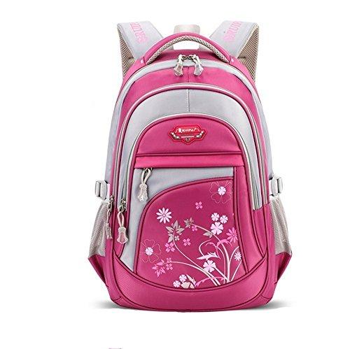 6f82e7a52cece Leefrei Schulrucksack Schulranzen Sports Rucksack Reisegepäck Daypacks  Backpack für Mädchen Jungen   Kinder Damen Herren Jugendliche mit der  Großen ...